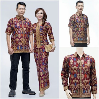 Baju Batik Couple Model Baru
