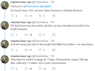 Kidnappers Kill Man After collecting Ransom calls Family to Carry his corpse