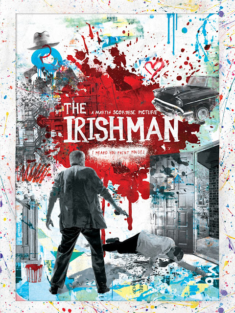 "Shutterstock Celebrates Oscar-Nominated Films With Reimagined Movie Posters - ""The Irishman"" Poster by Alex Bodin"