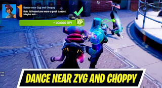 How to dance near zyg and choppy and where to dance near Zyg and Choppy