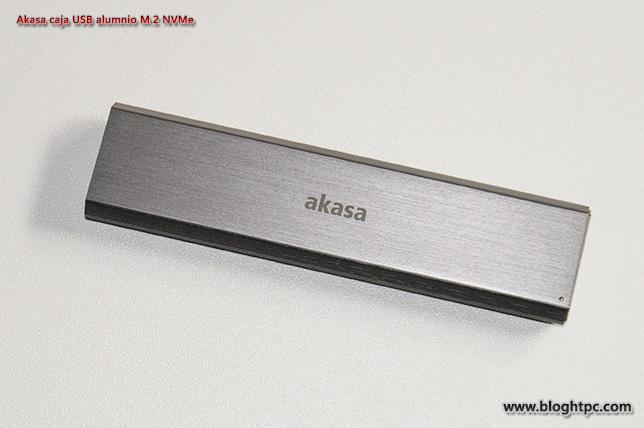 AKASA CAJA USB ALUMINIO PARA SSD M.2 NVMe