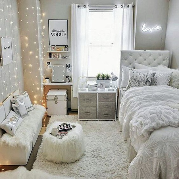 7 Modern Style Teenage Girl Room Ideas - Dream House