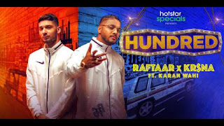Do Khilaadi Problem Bhaari Lyrics Raftaar | Hundred