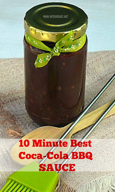 Versatile BBQ Sauce ~ use as a marinade / basting sauce or on meaty sandwiches and burgers