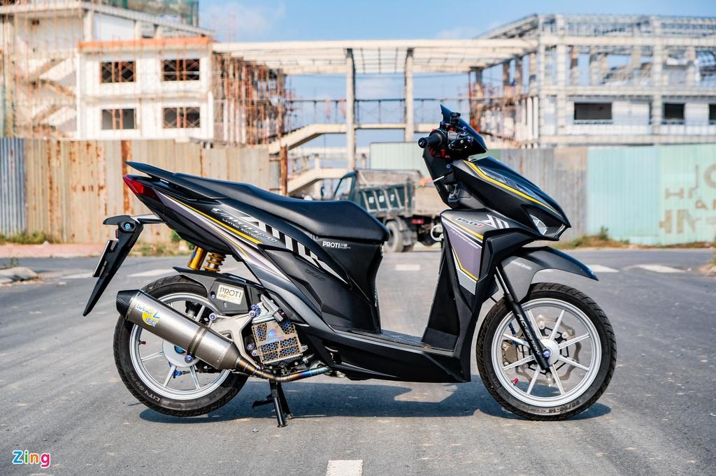 Honda Vario 150 với gói độ 70 triệu ở Vĩnh Long