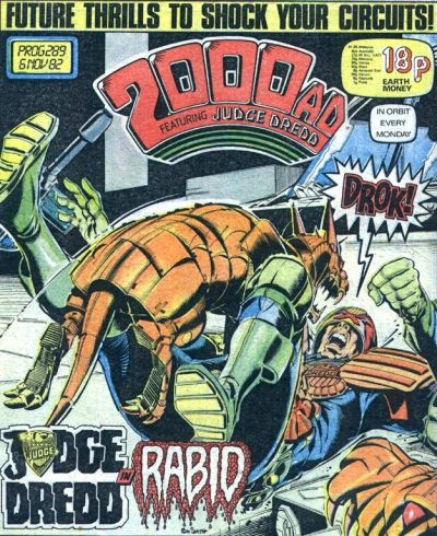 2000 AD Prog 289, Judge Dredd