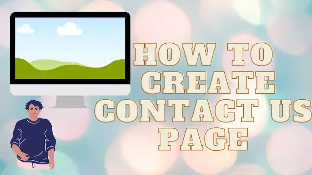 Create contact us page