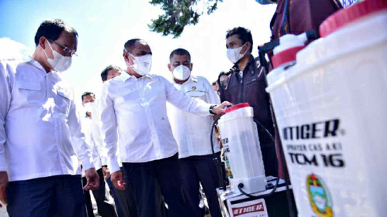 Gubernur Edy Rahmayadi  Kunjungi Humbahas, Dorong Modernisasi Pertanian