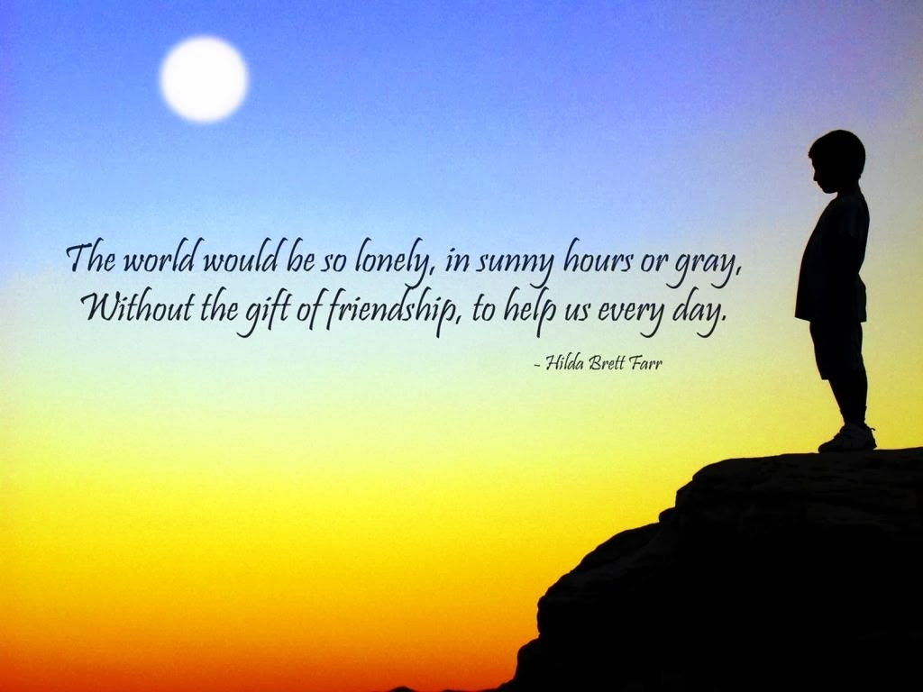 Friendship Quotes HD Wallpaper For Desktop - HD Wallpaper ...
