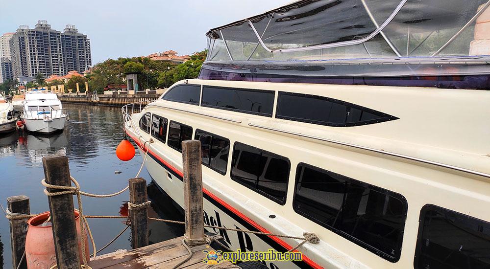 pemesanan tiket speed boat marina ancol