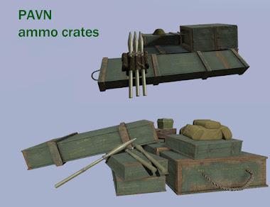 Arma3用Unsungベトナム戦争MODの弾薬箱