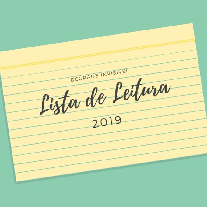 Lista de Leitura - 2019