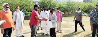 जौनपुर : गरीबों की मदद में जुटा है रघुवंशी परिवार | #NayaSabera