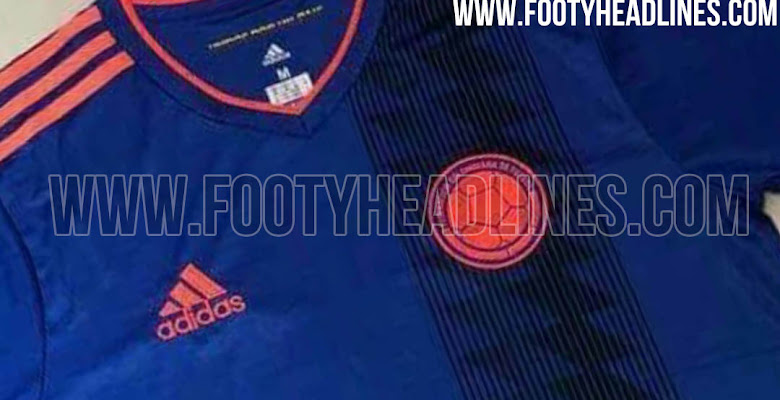 277853bf2 Colombia 2018 World Cup Away Kit Leaked