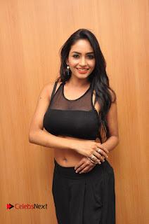 Actress Pooja Sree  Pictures at Khaan Saab Restuarent Launch in Gachibowli   0169.JPG