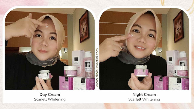 Day and Night Cream Scarlett Whitening