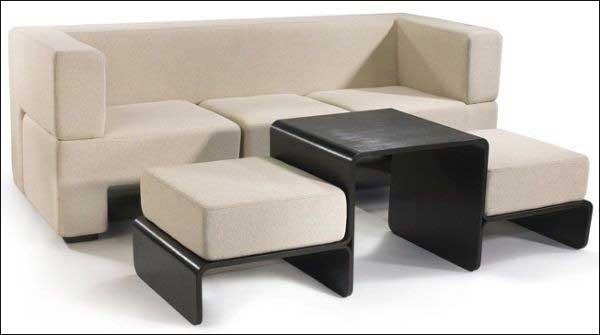 Sofa đa năng có bàn uống nước