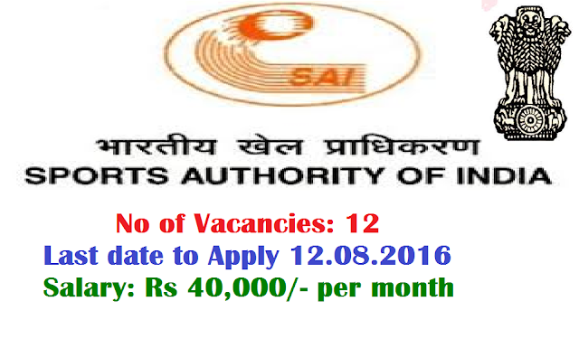 Sports Authority of India SAI Recruitment Notification 2016 for Young Professionals/2016/07/sports-authority-of-india-sai-recruitment-2016-for-young-professionals.html