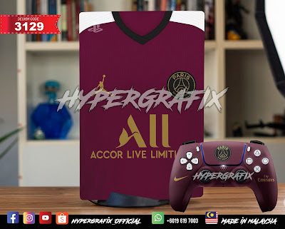 SKIN PS5 Jersey Bola