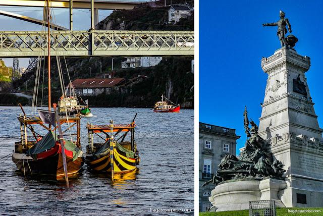 Passeio de barco no Rio Douro, Cidade do Porto, Portugal