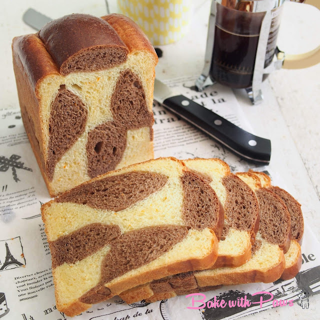 Orange Chocolate Soft Sourdough Bread
