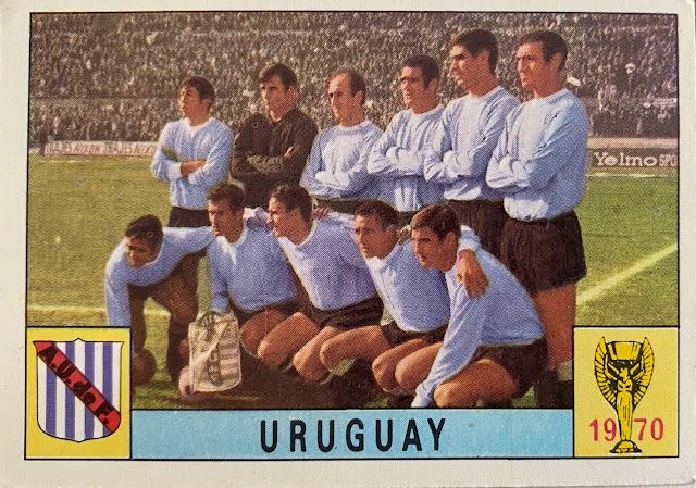 figurina uruguay mexico 70