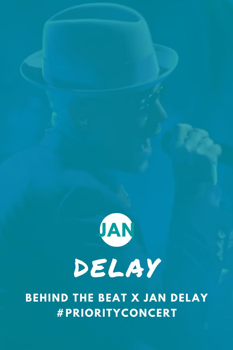 Jan Delay hat ein Priority Concert gegeben | Behind the Beat x Jan Delay