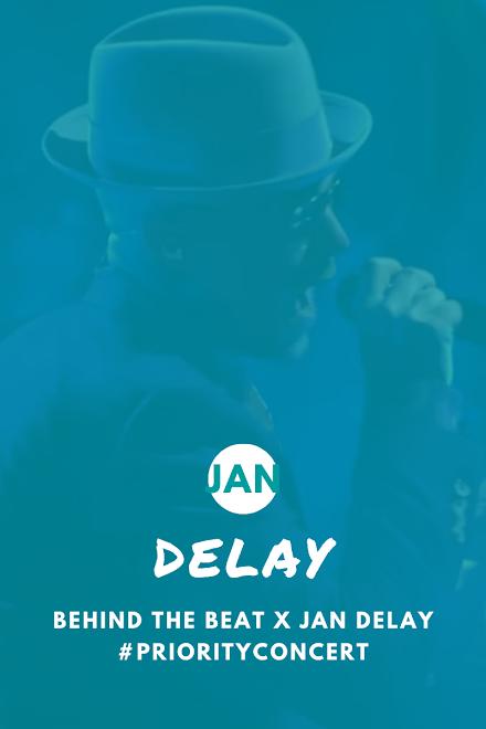 Jan Delay hat ein Priority Concert gegeben | Behind the Beat x Jan Delay im Stream