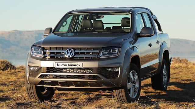 Nova VW Amarok 2017