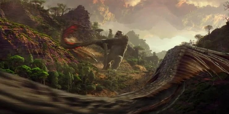 Полный список новых гигантских монстров в «Годзилла против Конга» - 02