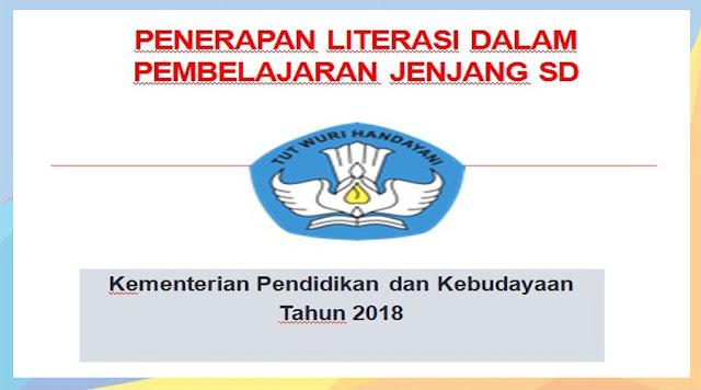 Penerapan Literasi Dalam Pembelajaran Jenjang SD