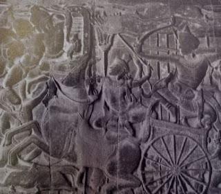 अर्जुन आणि सारथि कृष्ण<br />
