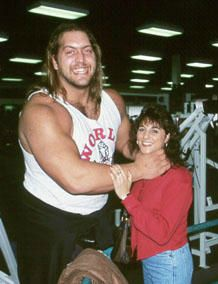 Melissa Ann Piavis with her ex-husband Big Show