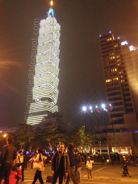 Taipei 101 New Year's Eve fireworks