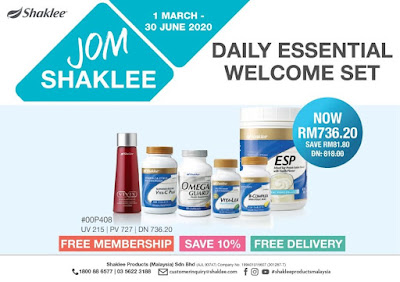JOM SHAKLEE - DAILY ESSENTIAL