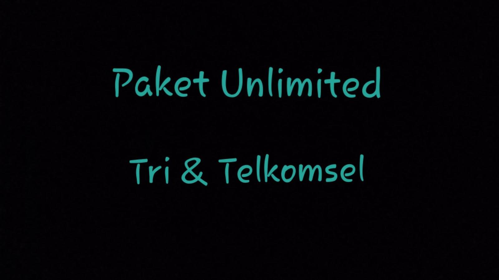 Beli Paket Internet Unlimited Sosial Media Tri atau Telkomsel?