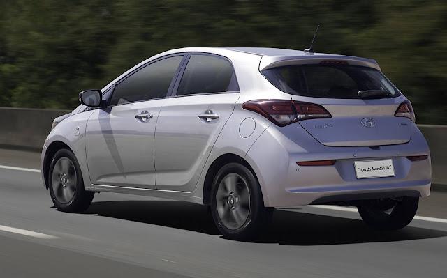 Hyundai HB20 - 2º carro mais vendido do Brasil - março de 2018