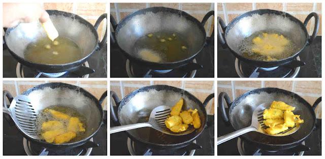 Baby Corn Pakoda/Crispy Baby Corn Fritters Recipe