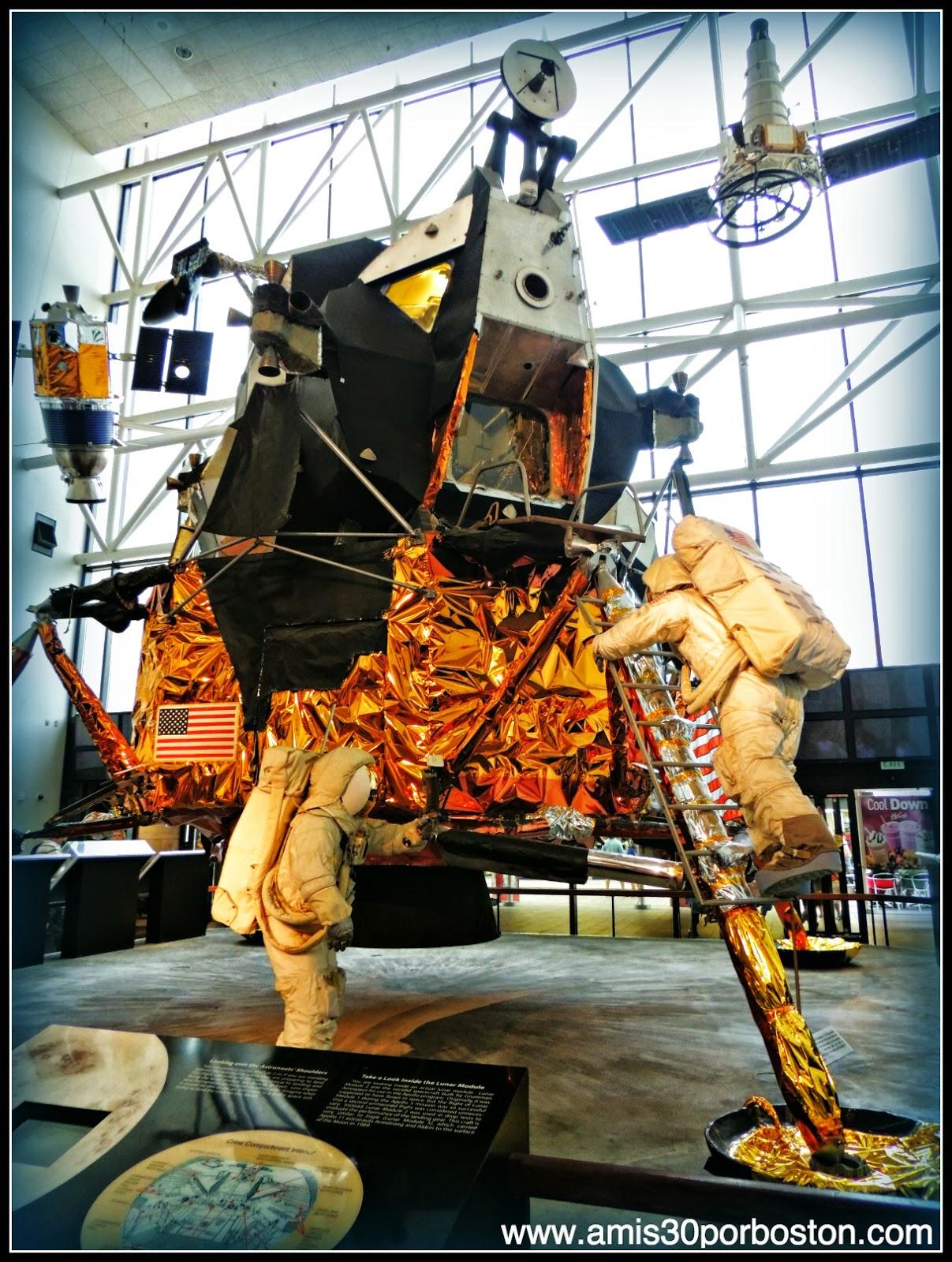 Apollo Lunar Module en el Museo Nacional del Aire y el Espacio de Estados Unidos