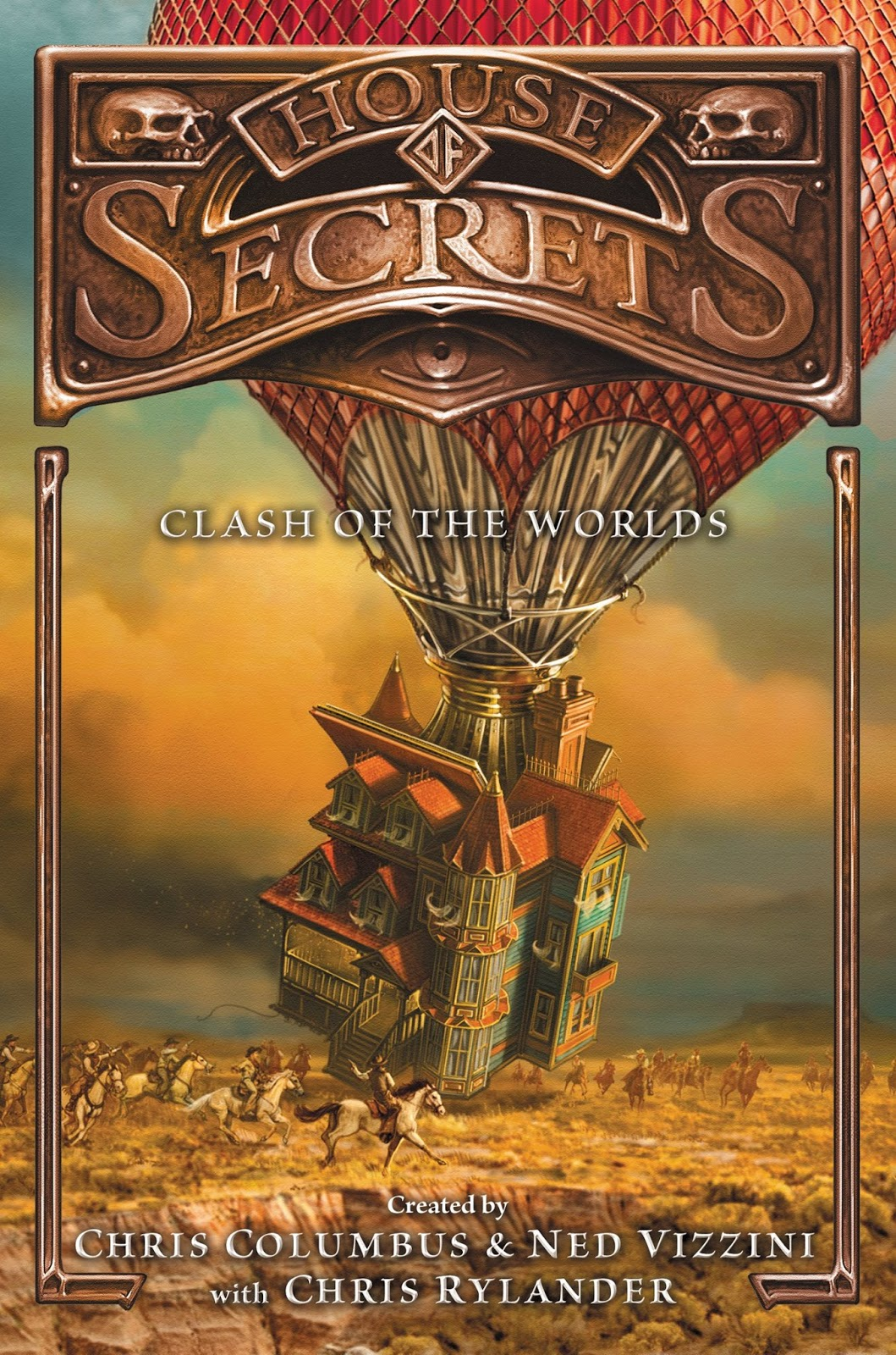 House of Secrets: Clash of the Worlds by Chris Columbus, Ned Vizzini and Chris Rylander