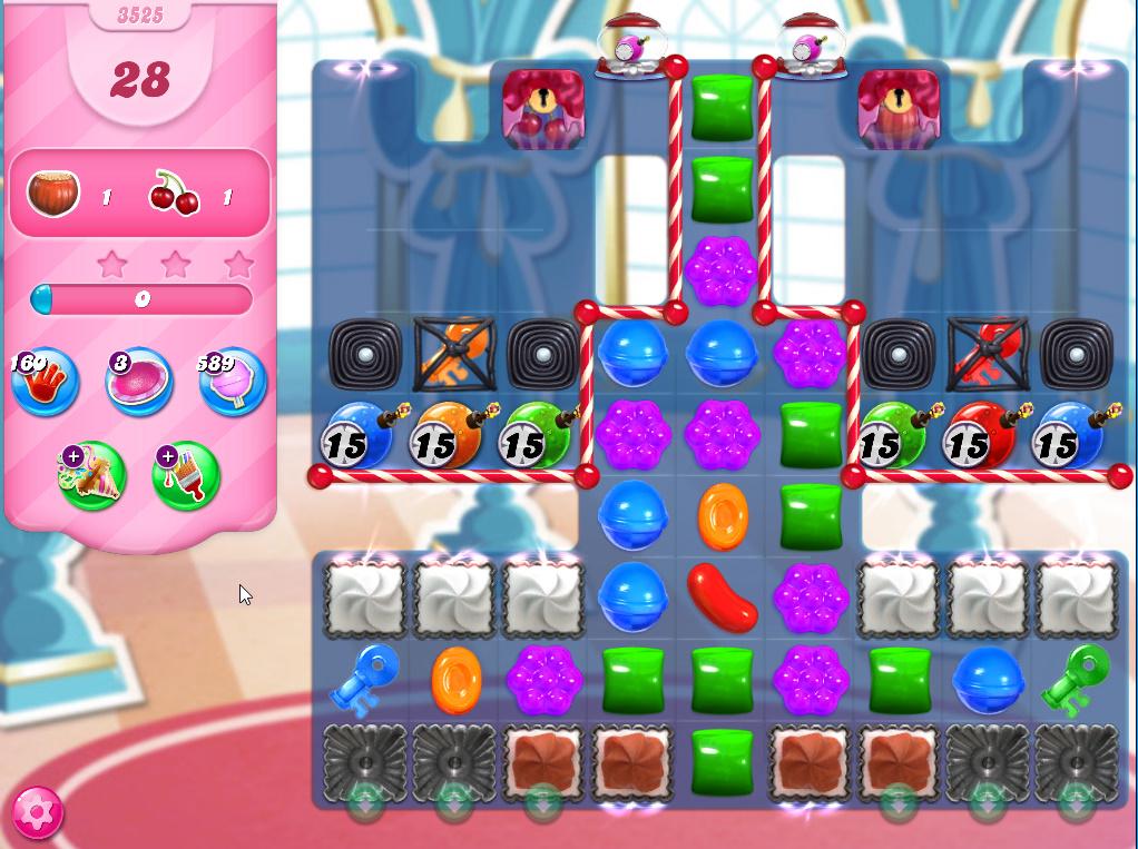 Candy Crush Saga level 3525