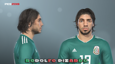 PES 2019 Faces Rodolfo Pizarro by Prince Hamiz