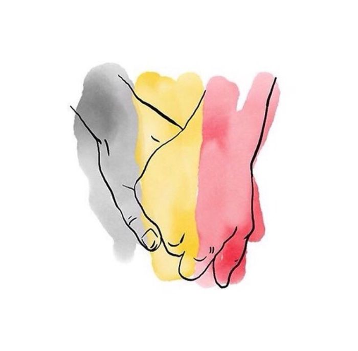#PrayForBrussels Let's Show The World That We Are UNITED! - #41 Je Suis Bruxelles