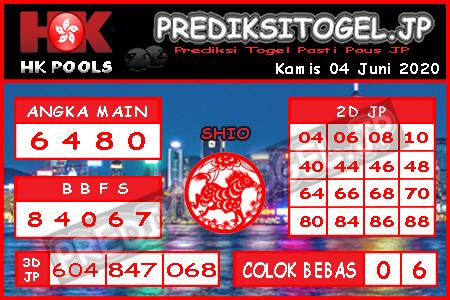 Prediksi Togel Hongkong Kamis 04 Juni 2020 - Prediksi Togel JP
