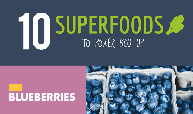10 SuperFoods To Power you Up