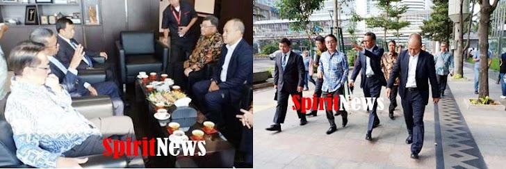 Gubernur Nurdin Abdullah Bertemu Presiden PT Marubeni Indonesia