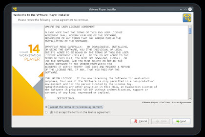 Install VMware Workstation Player di Linux Fedora