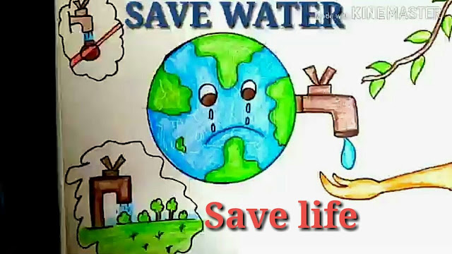 100+ Save Water Poster For School Project | Save Water Posters For Kids