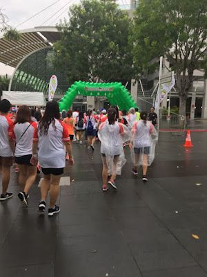 Hello Kitty Run Singapore 2018 - durian pit stop by Sweet Bunny