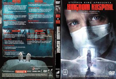 Série Kingdom Hospital 1ª Temporada DVD Capa